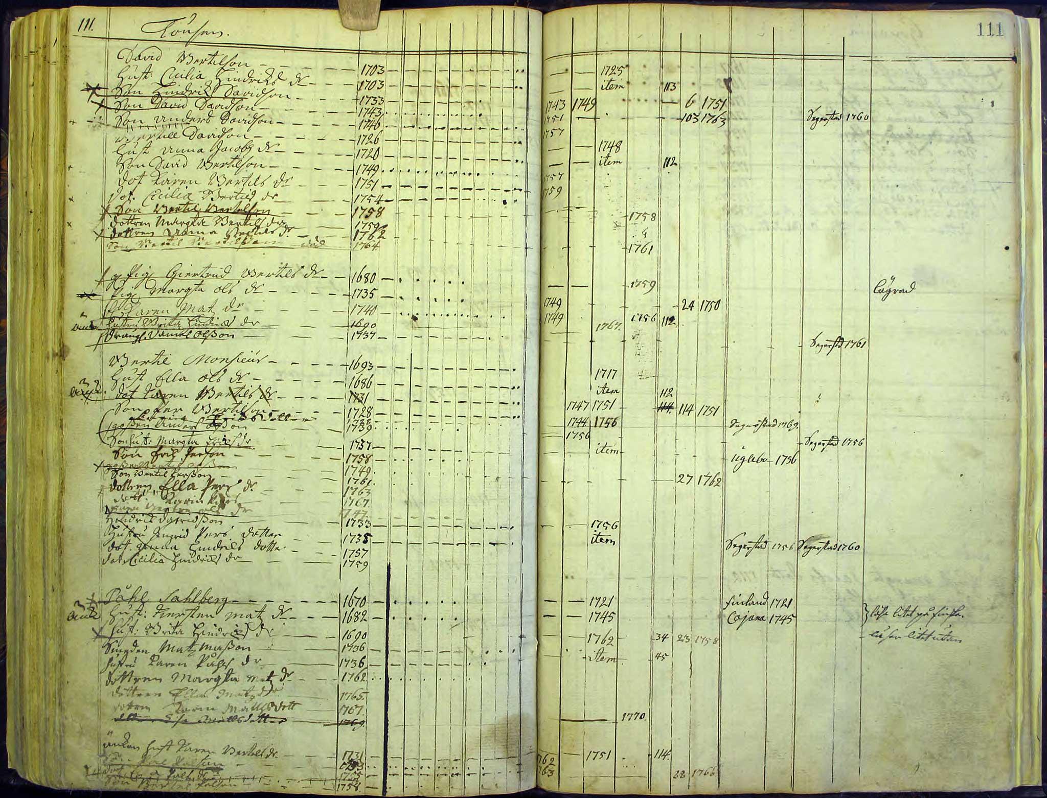 Hanebo A:1 1748-1773, sida 111