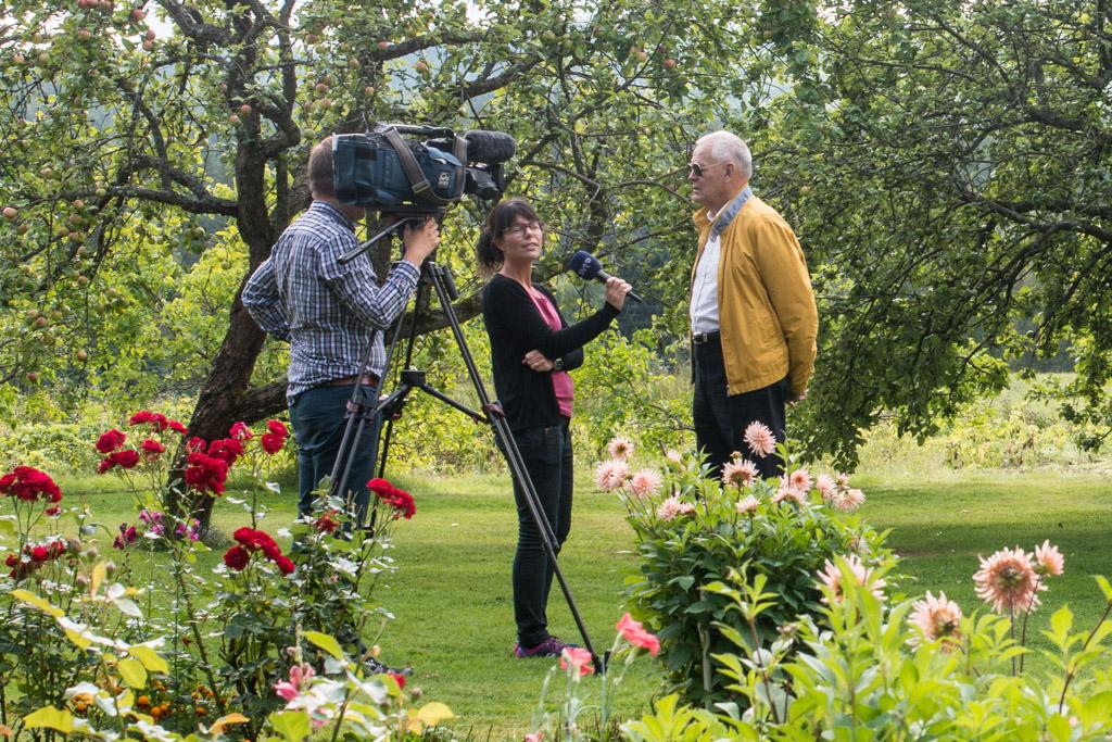 SVT intervjuar Gösta